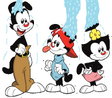 Yakko, Wakko and Dot's ALS Ice Bucket Challenge