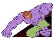 Brock as the Krunk