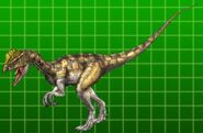 Dilophosaurus kyoryu-king