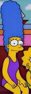Marge purple swimsuit
