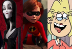 Morticia Addams, Helen Parr and Rita Loud