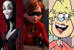 Morticia Addams, Helen Parr and Rita Loud.png