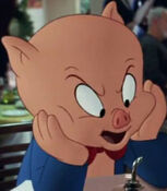 Porky Pig in Looney Tunes- Back in Action