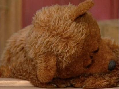 Sesame Street- Do the Alphabet (1996) - Baby Bear sleeping.jpg