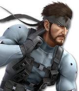 Solid Snake in Super Smash Bros. Ultimate