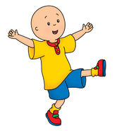 Caillou as Shawn