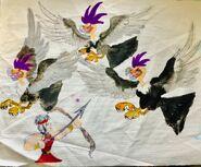Hercules vs stymphalian birds by masonthetrex dcpi2tm