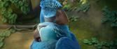 Jewel hugs her father