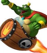 King K. Rool in Donkey Kong - Barrel Blast