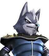 Wolf O'Donnell in Star Fox Assault
