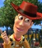 Woody in Kinect Disneyland Adventures