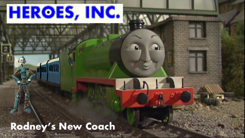 Heroes, Inc. - Rodney's New Coach