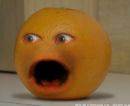 Annoying Orange Gasping