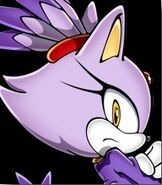 Blaze the Cat in Sonic Rush Adventure