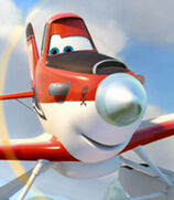 Dusty Crophopper in Planes Fire and Rescue