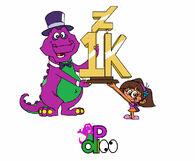 Thank you 1k watchers by purpledino100 de8nx0a-pre
