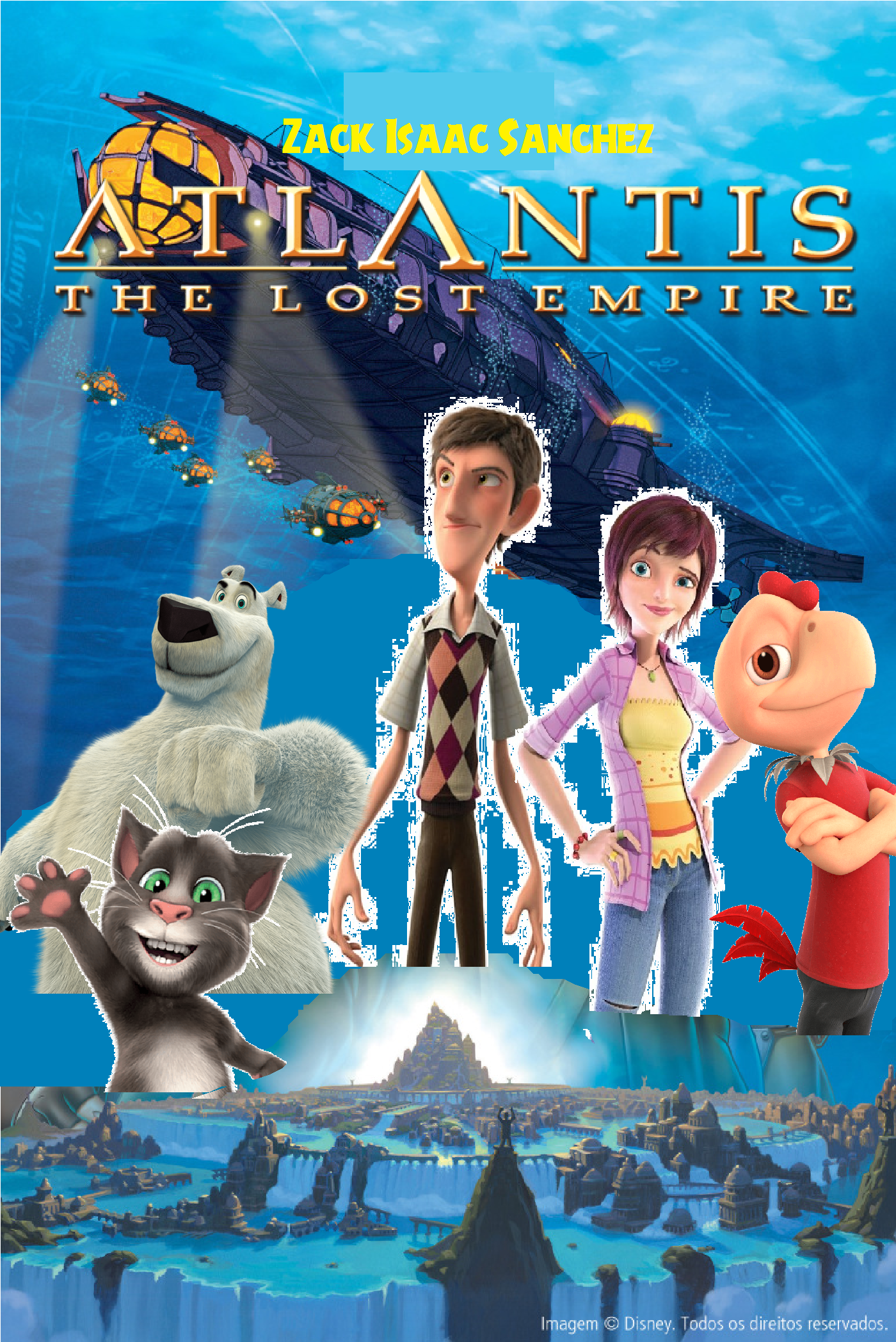 Atlantis: The Lost Empire (Zack Isaac Sanchez Style)