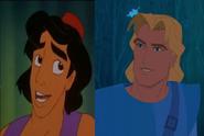 Aladdin and John Smith