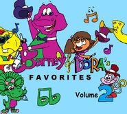 Barney and dora s favorites volume 2 by purpledino100 dcp07q5-pre