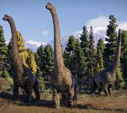 Brachiosaurus altithorax (Jurassic World Evolution 2)