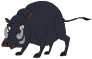 Clive the Babirusa