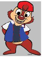 Dale as Ash