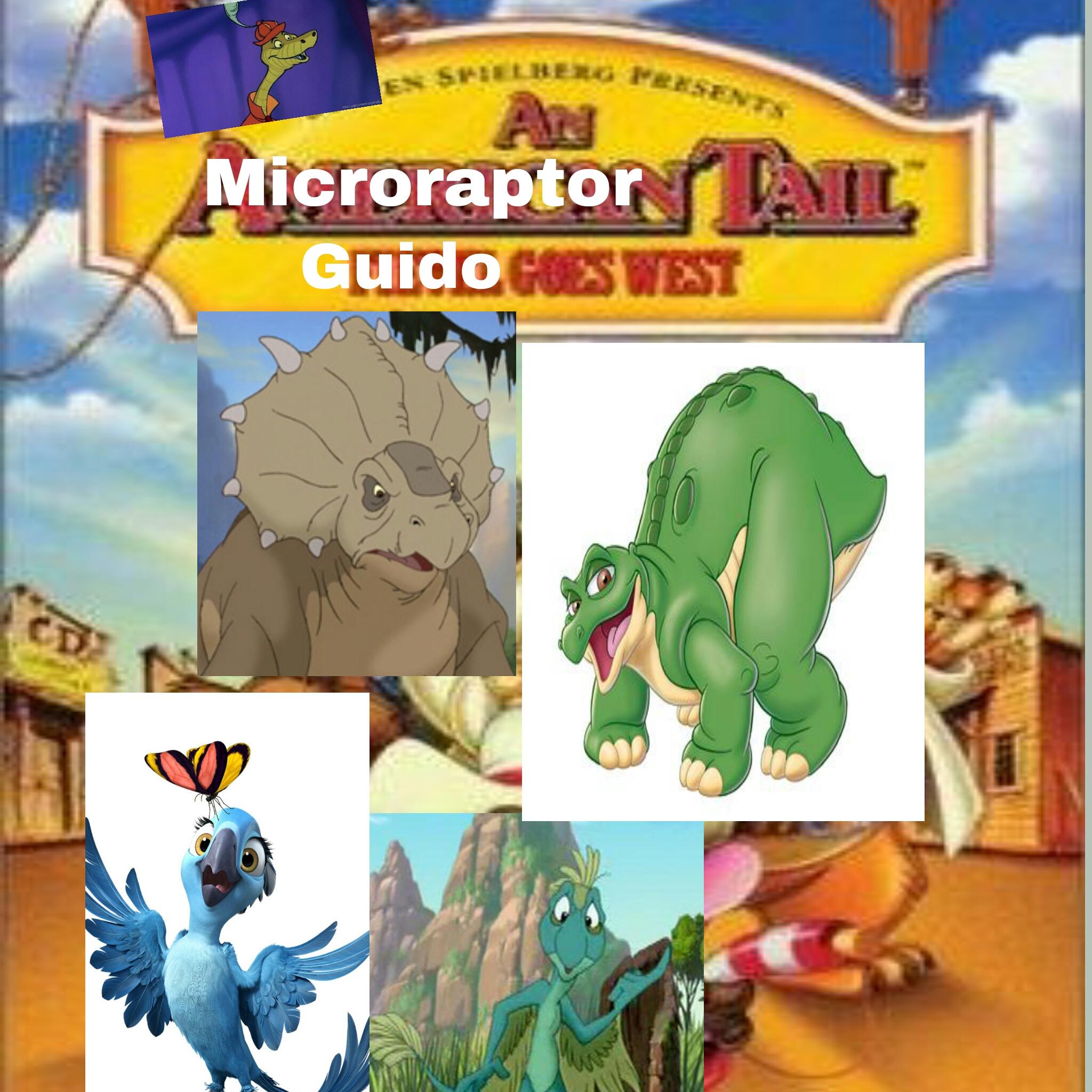 An Microraptor Tale 2: Guido Goes West