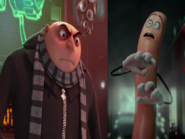 Gru Hates Frank the Sausage