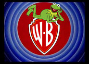 Kermit the Frog on WB Shield