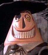Mayor of Halloween Town in The Nightmare Before Christmas