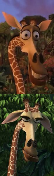 Melman the Giraffe Drake meme