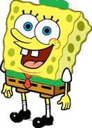 SpongeBob as Robin Hood
