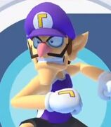 Waluigi in Mario and Sonic at the Olympic Games Tokyo 2020