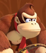 Donkey Kong in Mario Tennis Aces