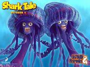 Ernie and bernie jellyfish
