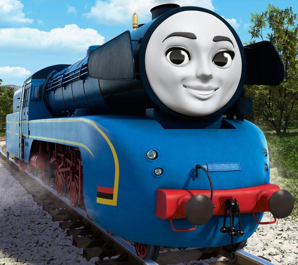 Frieda the German Engine