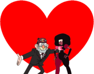 Grunkle Stan and Garnet love together