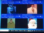 Sulley, Big Daddy La Bouff, Pacha and Santa Claus