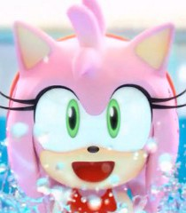Amy rose (pixel pinkie)