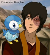 Prince Zuko and Piplup