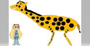 Star Meets the Masai Giraffe