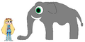 Star meets Indian Elephant