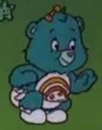 Wish Bear as a baby