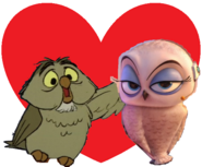 Archimedes and eva love together
