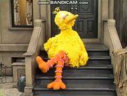 Big Bird whistling in episode 2004