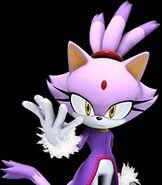 Blaze the Cat in Sonic the Hedgehog (2006)