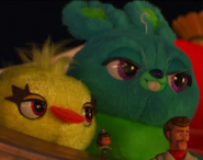 Ducky and Bunny (Toy Story 4)