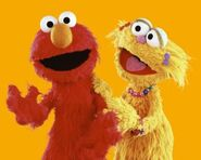 Elmo and Zoe