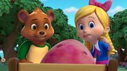 Goldie and Bear have a big egg
