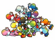 Various Yoshies